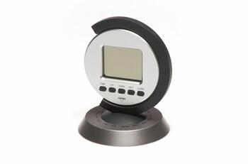 SVEGLIA QUARZO LCD WORLD TIME   Alessandrelli Business Solutions