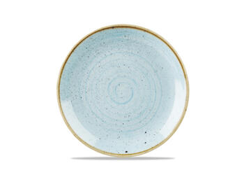 STONECAST DUCK EGG COUPE PLATE   Alessandrelli Business Solutions