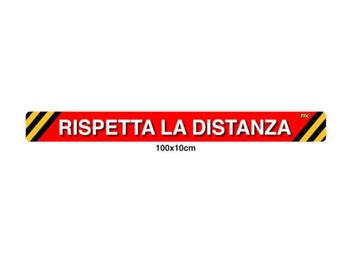 ADESIVO SICUREZZA 100X10   Alessandrelli Business Solutions
