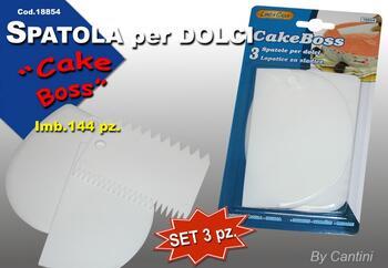 SPATOLA DOLCI CAKE BOSS   Alessandrelli Business Solutions