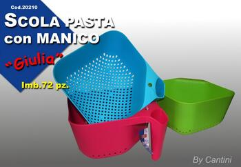 SCOLA PASTA CON MANICO   Alessandrelli Business Solutions