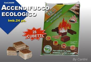 ACCENDIFUOCO FIRE ECOLOGICO PZ.28   Alessandrelli Business Solutions