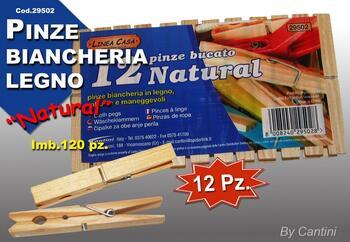 PINZE BIANCHERIA LEGNO PZ.12   Alessandrelli Business Solutions