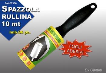 SPAZZOLA ABITI RULLINA MT.10   Alessandrelli Business Solutions
