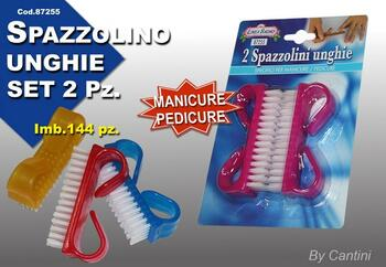 SPAZZOLINO UNGHIE PZ.2 BLISTER   Alessandrelli Business Solutions