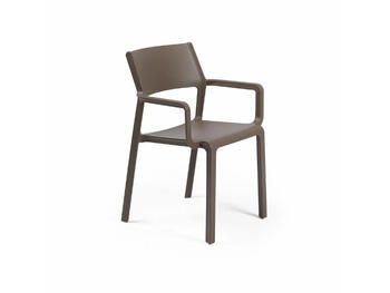 SEDIA TRILL ARMCHAIR TABACCO   Alessandrelli Business Solutions