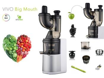 VIVO BIG MOUTH SLOW JUCER BIANCO/GRIGIO   Alessandrelli Business Solutions