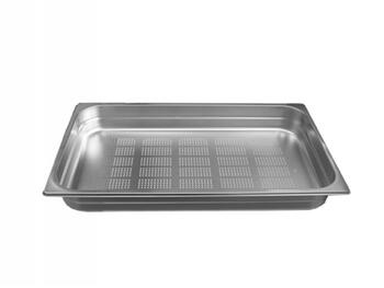 GASTRONORM FORATA INOX 1/1 53X33H10   Alessandrelli Business Solutions