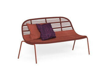 PANAMA LOVESEAT ROSSO   Alessandrelli Business Solutions