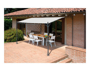 GAZEBO PERGOLA A PARETE 4X3 MT   Alessandrelli Business Solutions